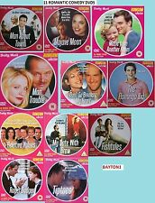 11 FILMS-11 DVDS -ROMCOM-ROMANTIC COMEDY  COLLECTION- GOOD ACTORS