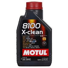 Motul 8100 X-clean 5W-40 1 LITRO ACEA C3, DEXOS 2, FIAT, BMW, PORSCHE, VW, FORD