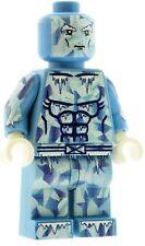 Custom Designed Minifigure Iceman Superhero Printed On LEGO Parts