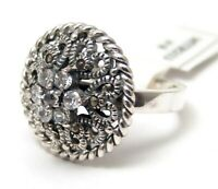 Sterling Silver Ring Marcasite Size 8 Brand New