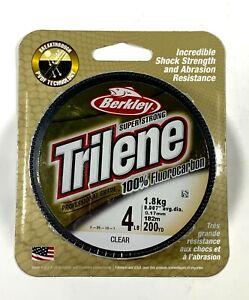Berkley Trilene Fluorocarbon Clear 200 Yards 4 Lb Test