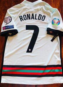 2020/21 Nike Portugal #7 Ronaldo Vapor Away Match Soccer Jersey CD0600 336