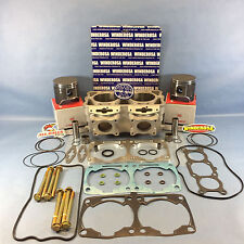 2010 POLARIS 800 WISECO PISTONS CYLINDER GASKETS RMK PRO DRAGON SAVER 3022201