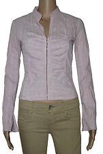 STYLE Bluse Damenbluse Damenhemd Hemd rosa Stretch Hakenleiste Stehkragen seguZS