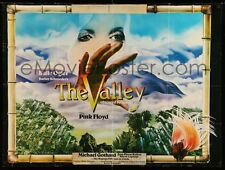 PINK FLOYD The Valley Obscured By Clouds 1972 US ORG MOVIE POSTER La Vallee FILM