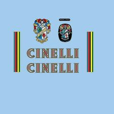 Cinelli Super Corsa Decals, Transfers, Stickers - n.7