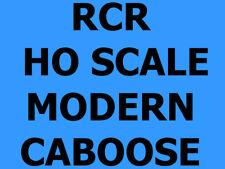 RCR - CABOOSE 4 WINDOW (3+1) - AT&SF 1962