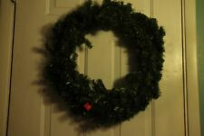 "Large 30"" Pine Evergreen Wreath Door Decor Winter Christmas Holiday Green"