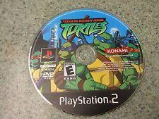 Teenage Mutant Ninja Turtles (Playstation PS2) Black Label