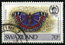 Swaziland 1987 SG#525, 70c Butterfly Definitive Used #D40280