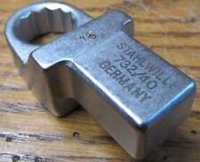 Stahlwille 58224016 732/40 16mm Ring Insert Tool