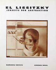 EL LISSITZKY - Jenseits der Abstraktion. Gebundener Ausstellungskatalog.