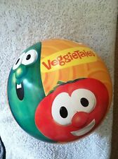 "Veggie Tale bounce ball, Hedstrom, 8"", New, Bob, Larry, Inflatable"