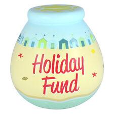 Piggy Bank Ceramic Savings Pot Bank Holiday Savings Fund Dream Cruise Travel