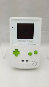 Nintendo Gameboy Color Light CGB-001 All White Edition Modified Edition