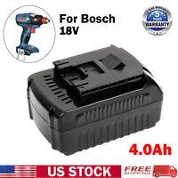 Upgrade 18V 4.0Ah Lithium Battery FOR Bosch BAT609 BAT610G BAT618 26618-01 17618