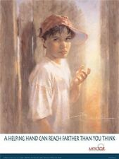 Waiting For You by Kathryn Fincher Kids Children Young Boy Teenager Paper Poster