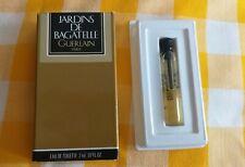 GUERLAIN Jardins de Bagatelle 1981 edt 2ml ,07floz Tigette 5/6 full + box (p449)