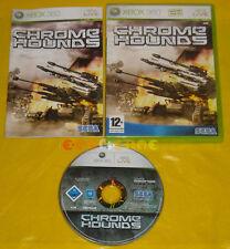 CHROME HOUNDS XBOX 360 Versione Ufficiale Italiana 1ª Edizione »»»»» COMPLETO
