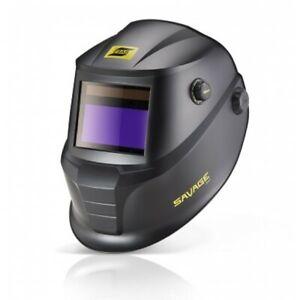 ESAB Savage A40 Welding Helmet Package - Black + FREE P&P