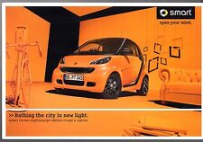 Smart ForTwo Nightorange Limited Edition 2010-11 UK Market Sales Brochure