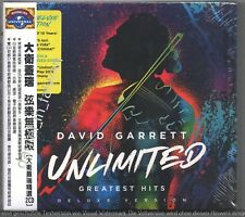 David Garrett Unlimited Greatest Hits Deluxe Version 2018 TAIWAN OBI 2-CD SEALED