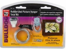 The Bulldog Hardware Rubberized Picture Hanger Total Kit Grips Picture Wire