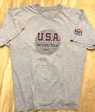 Usa National Basketball Team Vintage Nike Olympic Shirt