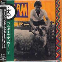PAUL MCCARTNEY-RAM-JAPAN MINI LP SHM-CD Ltd/Ed G00