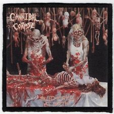 CANNIBAL CORPSE PATCH / SPEED-THRASH-BLACK-DEATH METAL
