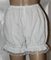 Victorian / Edwardian Bloomers With Lace Trim Fancy Dress Sissy Knickers