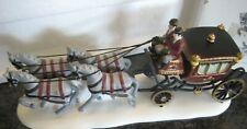 Dept. 56 Heritage Village Royal Coach hand painted porcelain accessory mint