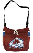 NHL Colorado Avalanche Laces Jersey Tote Bag Purse