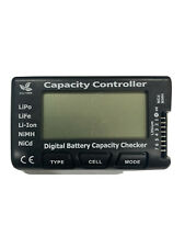 Hrb Rc 7 Digital Battery Capacity Checker Controller Tester Voltage USA SHIPPED