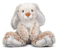 "Melissa & Doug Princess Soft Toys 12"" Plush Burro Easter Bunny"