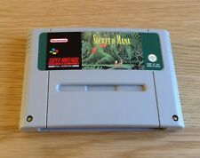 SECRET OF MANA * SUPER NINTENDO / SNES RPG * CLEANED & TESTED * VGC * UK PAL *