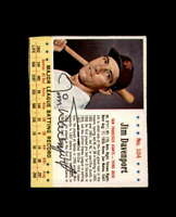 Jim Davenport Hand Signed 1963 Post San Francisco Giants Autograph