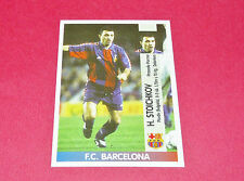 HRISTO STOICHKOV FC BARCELONA PANINI LIGA 96-97 ESPANA 1996-1997 FOOTBALL