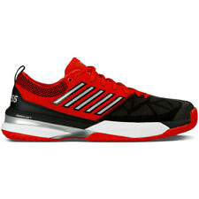 K Swiss 05397-610 Knitshot Fiery Red Black Men's Tennis Shoes US 6.5 M