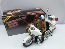 HARLEY Super Police Motorcycle Battery Operated 1/6 Scale Kids Toy #ST-8700AP