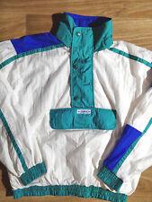 ZURICH 90's Vintage Mens Windbreaker Nylon Hooded Jacket Swiss Track Top