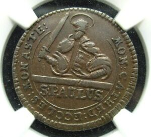 TOP POP - 1753 Munster 3 Pfennig - NGC XF 40 BN - Circulated Coin German States