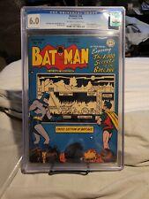 Batman 48 6.0 CGC Secrets of the Batcave