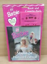 Vintage Barbie Book and Cassette Moonlight Fashion Festival New and Sealed RARE