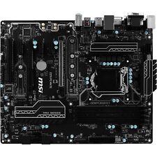 MSI Z270 PC MATE Intel Z270 Socket 1151 ATX Motherboard w/ HDMI DVI Video RAID