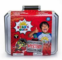 RYAN'S WORLD Ryan's Secret Agent Mystery Super Spy Mission Case - New for 2020