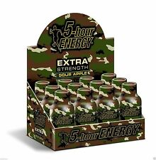 5 Hour Energy Extra Strength Sour Apple 12 ct Shots 1.93 oz Sugar Free