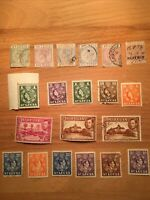 St Lucia Stamps GB Commonwealth QV - QEII Off Paper Mint & Used