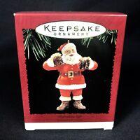 Hallmark Keepsake Refreshing Gift Coca Cola Santa Christmas Ornament 1995