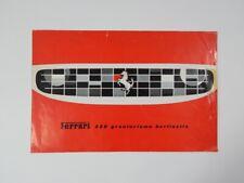 Original Ferrari 250 Granturismo Berlinetta SWB Sales Brochure English GTO GTE